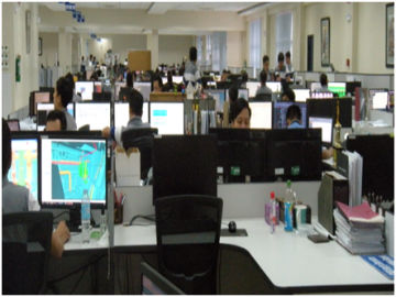 photo of ttsp employees working in design center