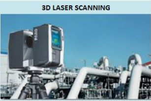 photo of 3D laser scanning equipment